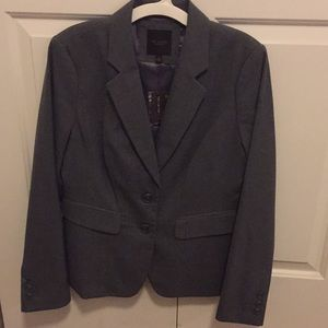 Never worn before: The Limited Gray Blazer